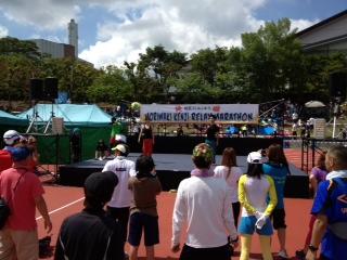 爆笑ランニング!!2013森脇健児リレーマラソンin京都