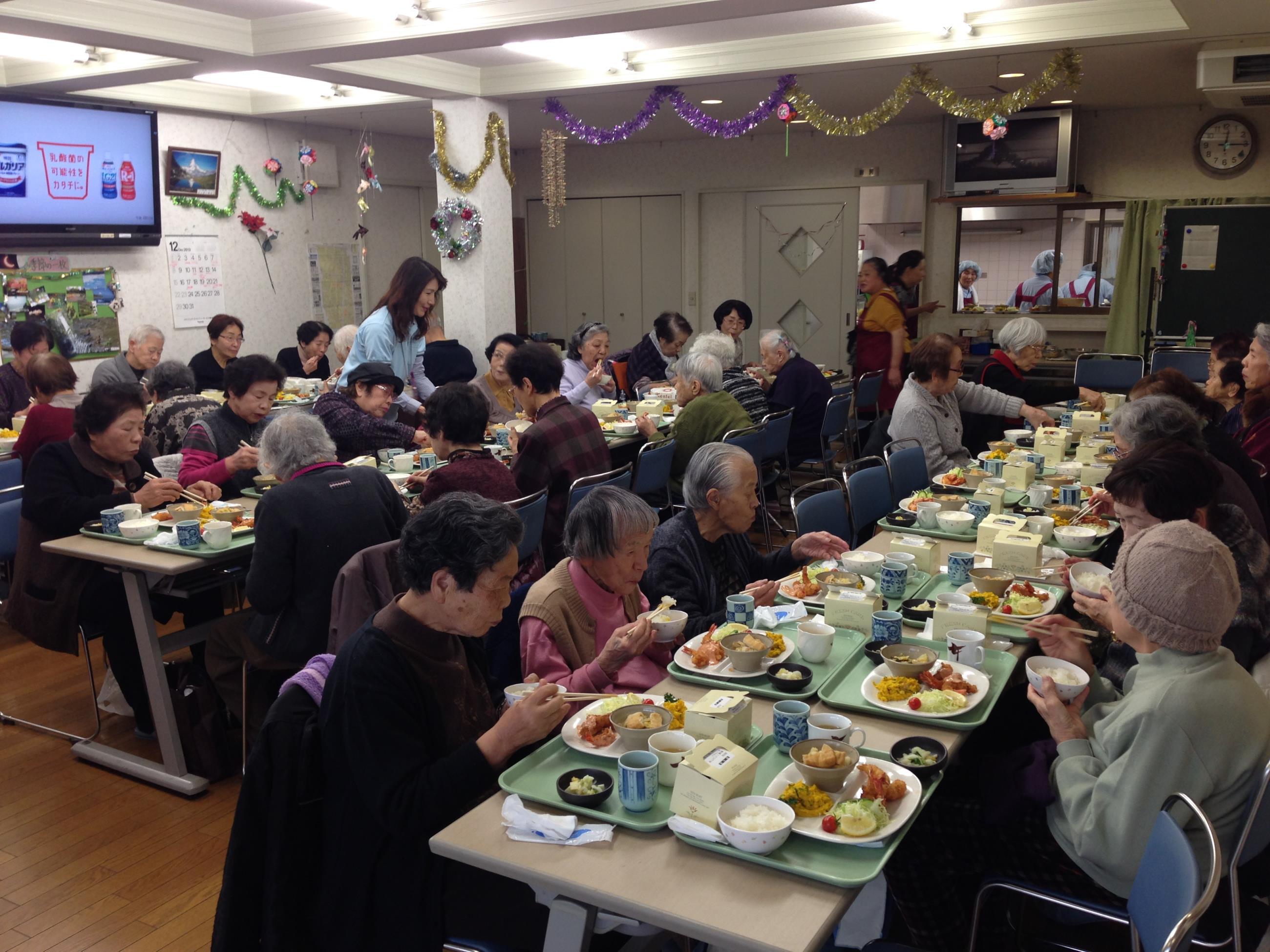 12月食事サービス
