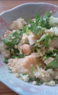 冬瓜とおからのサラダ