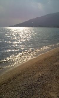 2013年初萩の浜