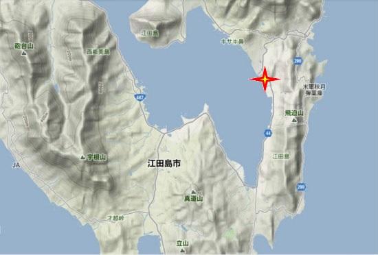 2)江田島町南部・矢ノ浦港