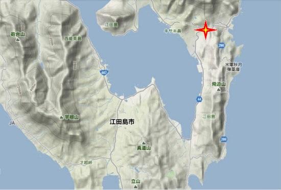 2)江田島町南部・中央・ふるさと交流館・学びの館・江田島支所
