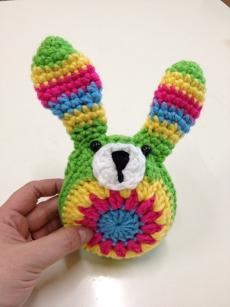 easy crochet bunny☆