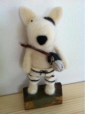 羊毛フェルト!