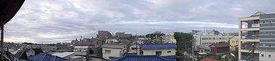 東村山地方の現在の南側の空