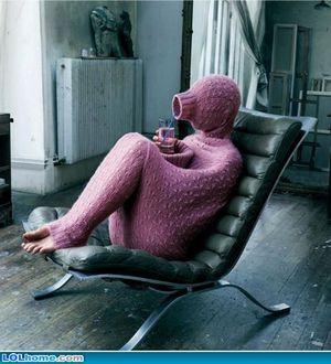 全身セーター