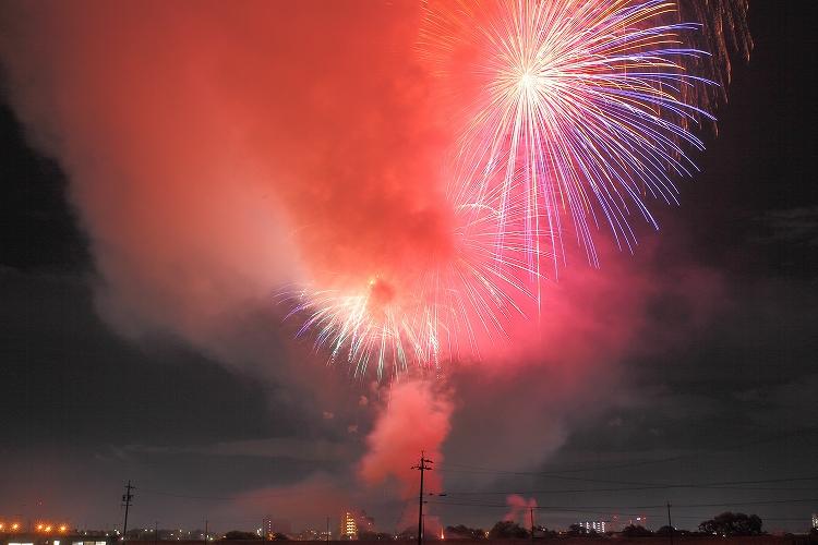 刈谷わんさか祭り2012花火08
