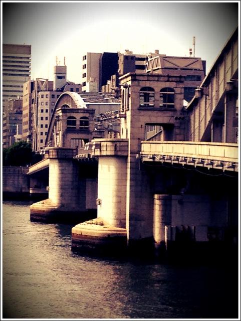 勝鬨橋可動部。