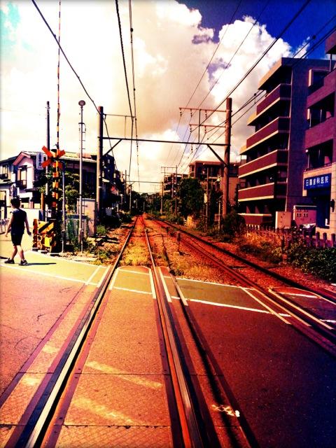 東急多摩川線。