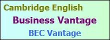 BEC Vantage CE