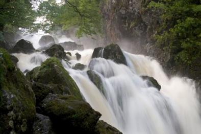 Lodfore falls