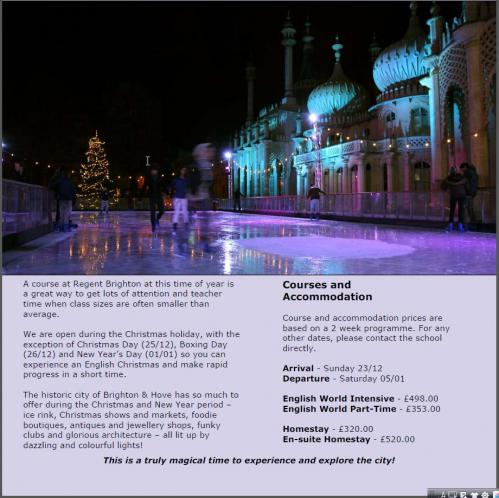 Regent Brighton Christmas