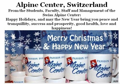 Swiss Alpine centre christmas 2012
