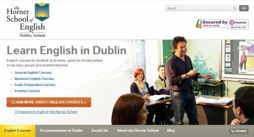 horner school of english dublin