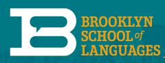 Brooklyn school of language logo