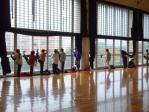 2日目の朝9時 練習開始