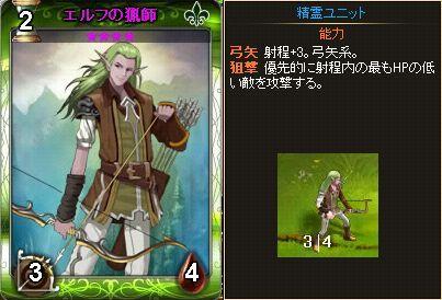 エルフの猟師