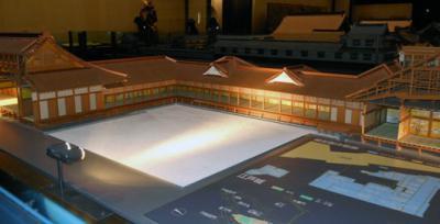 江戸城模型松の廊下1