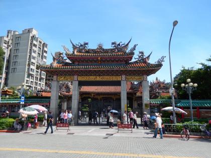 台北2014.7龍山寺