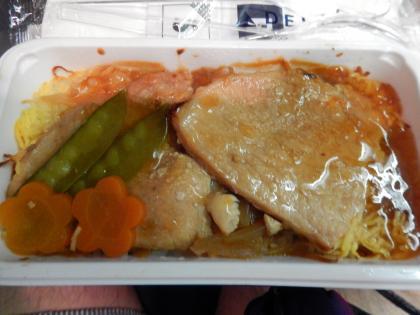 ハワイ2014.9デルタ航空ホノルル行機内食