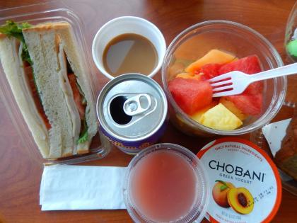 ハワイ2014.9ホテル部屋朝食