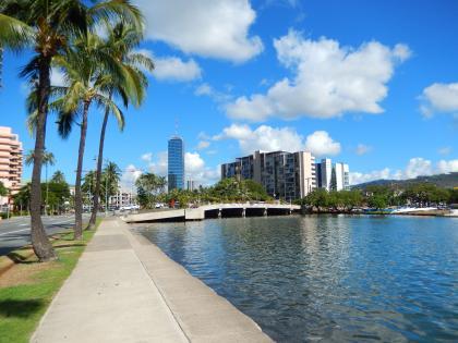 ハワイ2014.9アラワイ運河