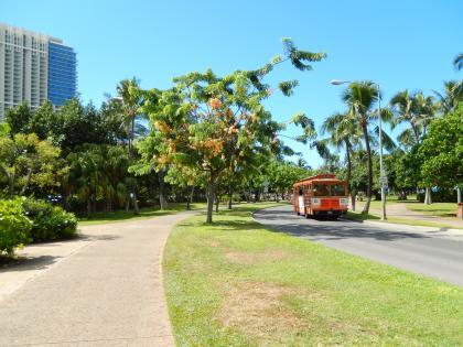 ハワイ2014.9フォートデラッシーパーク