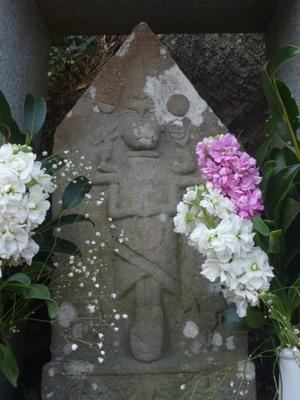高原熊野神社の庚申さん