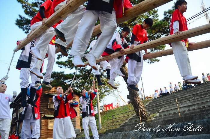 西条祭り2011 嘉母神社祭礼 宮出し 高丸子供太鼓台 愛媛県西条市禎瑞