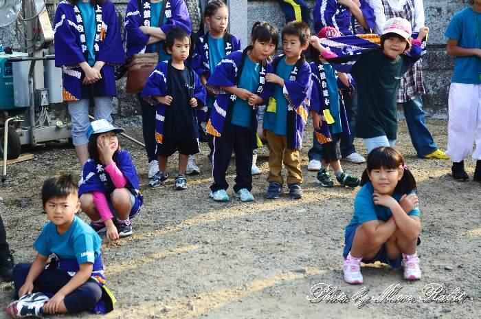西条祭り2011 嘉母神社祭礼 宮出し 上組子供太鼓台 愛媛県西条市禎瑞