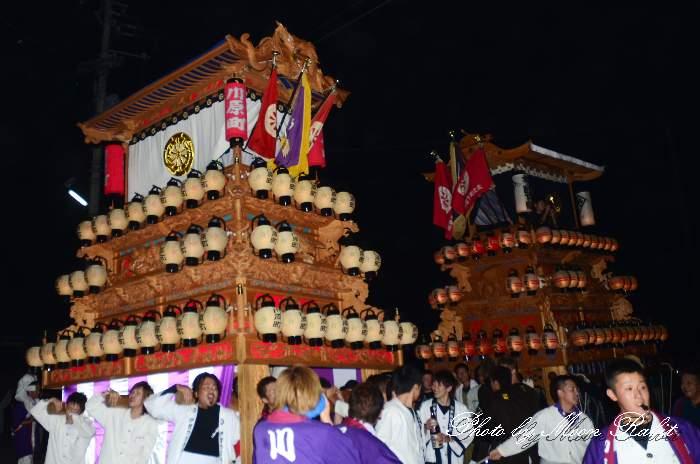 楢本祭(楢本神社祭り) 川原町だんじり(屋台・楽車) 西条祭り2011