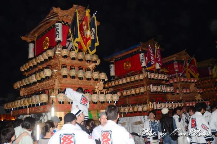 楢本祭(楢本神社祭り) 加茂町だんじり(屋台・楽車) 西条祭り2011