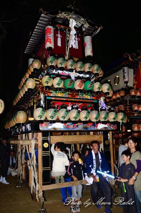 橘新宮神社祭 奥之内だんじり(奥の内屋台・楽車) 西条祭り2011 愛媛県西条市洲之内甲773番地