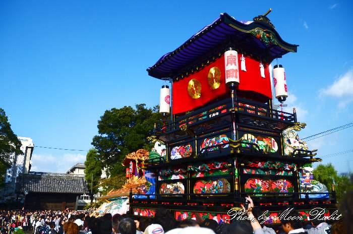 西条祭り2011 御殿前 南町だんじり(屋台・楽車) 伊曽乃神社祭礼