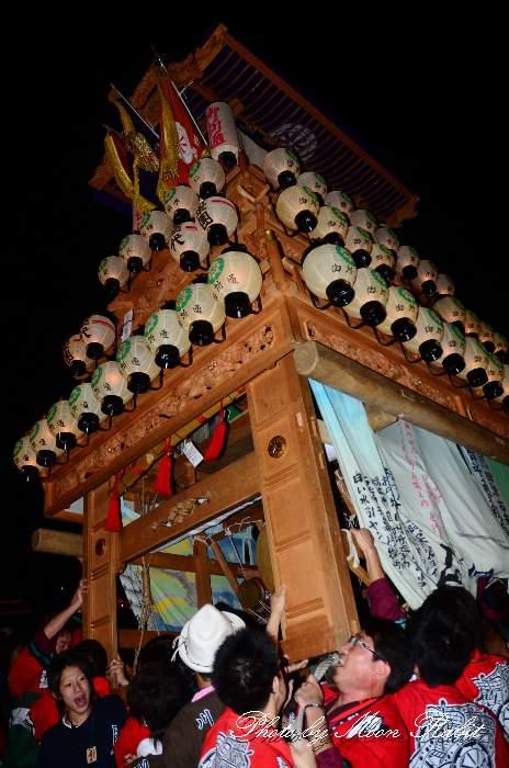 西条祭り2011 お旅所 御所通りだんじり(屋台・楽車) 伊曽乃神社祭礼