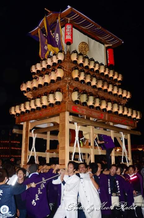 西条祭り2011 お旅所 栄町下組だんじり(榮町下組屋台・楽車) 伊曽乃神社祭礼