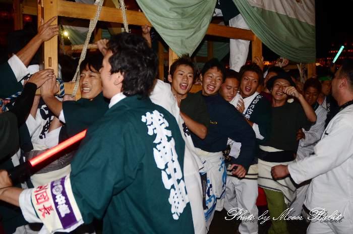 西条祭り2011 お旅所 栄町中組だんじり(榮町中組屋台・楽車) 伊曽乃神社祭礼