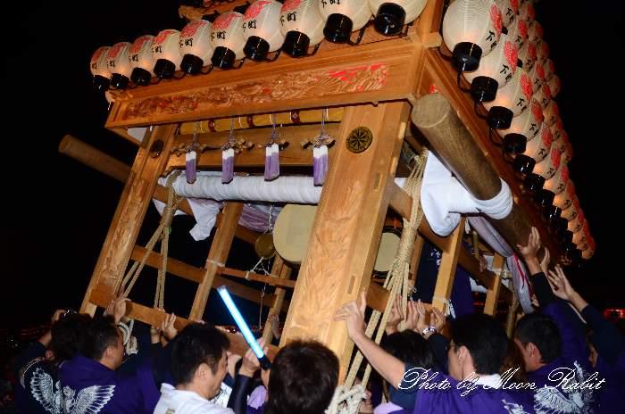 西条祭り2011 お旅所 下町南だんじり(屋台・楽車) 伊曽乃神社祭礼