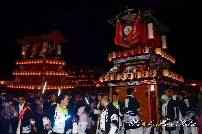 西条祭り2011 お旅所 砂盛町だんじり(屋台・楽車) 伊曽乃神社祭礼