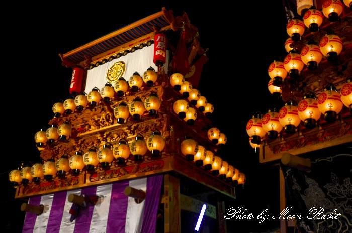 西条祭り2011 お旅所 川原町だんじり(屋台・楽車) 伊曽乃神社祭礼