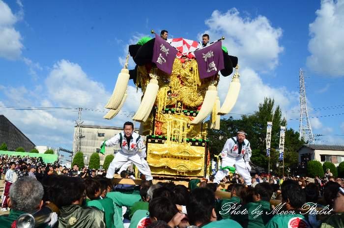 東町太鼓台 大江浜かきくらべ 新居浜太鼓祭り2011 愛媛県新居浜市