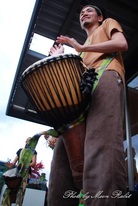 パンチフォロン(ジェンベ(西アフリカの打楽器)バンド) ロハスプラザ CRAFT COO & みんなのコーヒー Joint Market in LOHAS PLAZA 愛媛県西条市小松町大頭甲588‐1