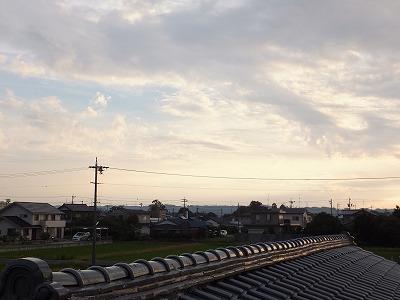朝の風景③