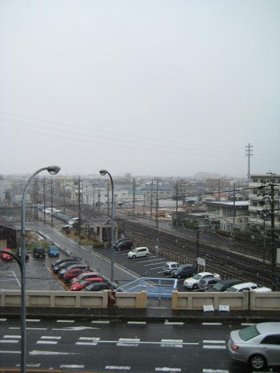 2012/12/10 初雪