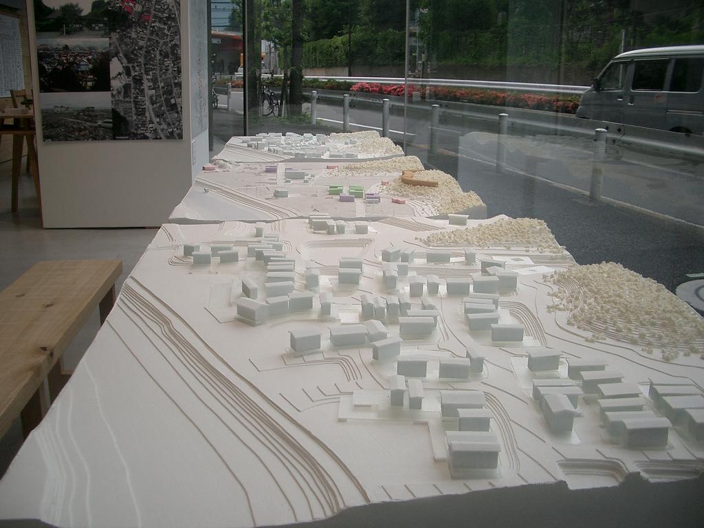 陸前高田 模型