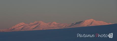 夕焼けの大雪山連邦