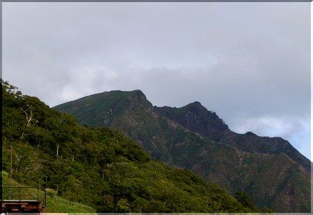 谷川岳 双耳峰