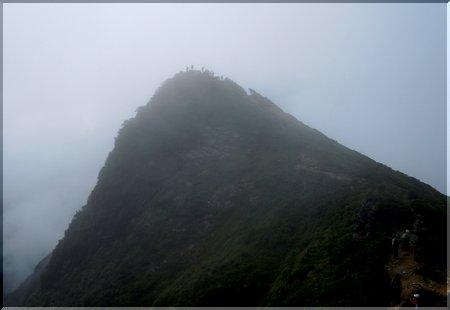 トマの耳@谷川岳