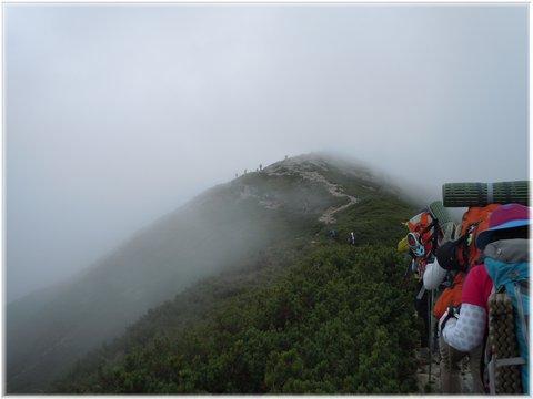 爺ヶ岳山頂も目前