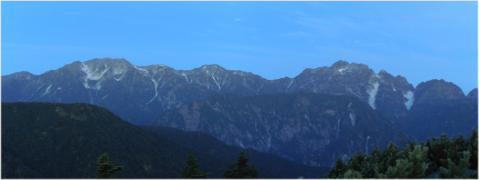 立山、剱岳